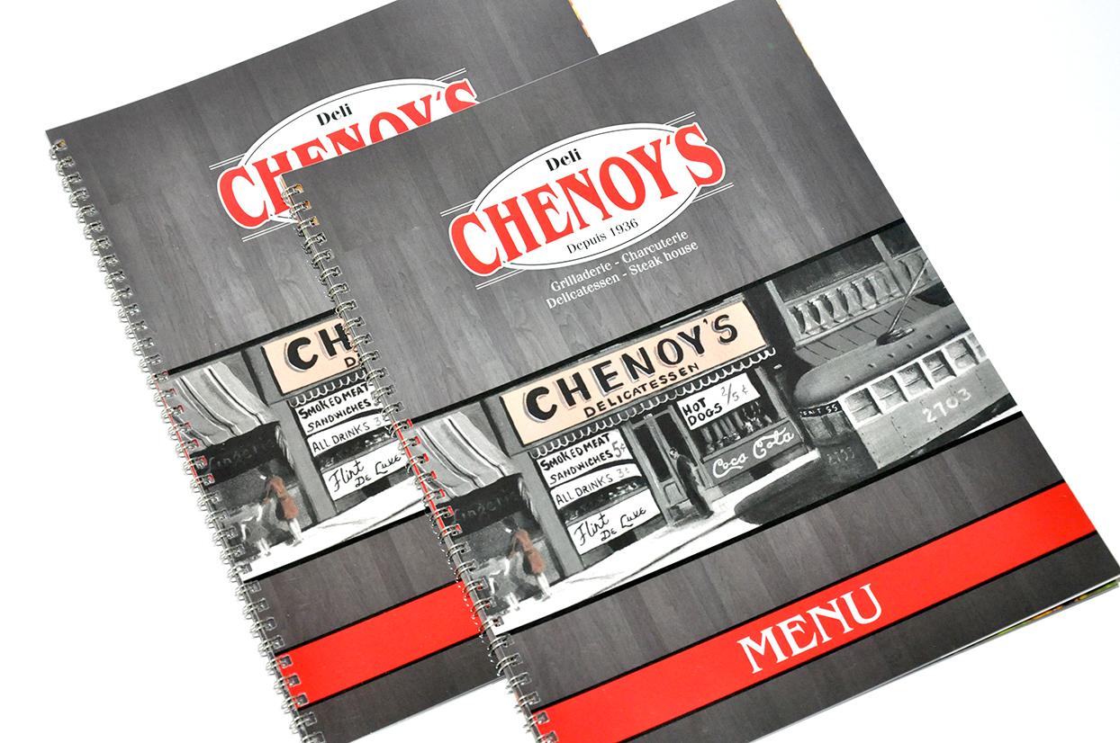 Menu Chenoy's