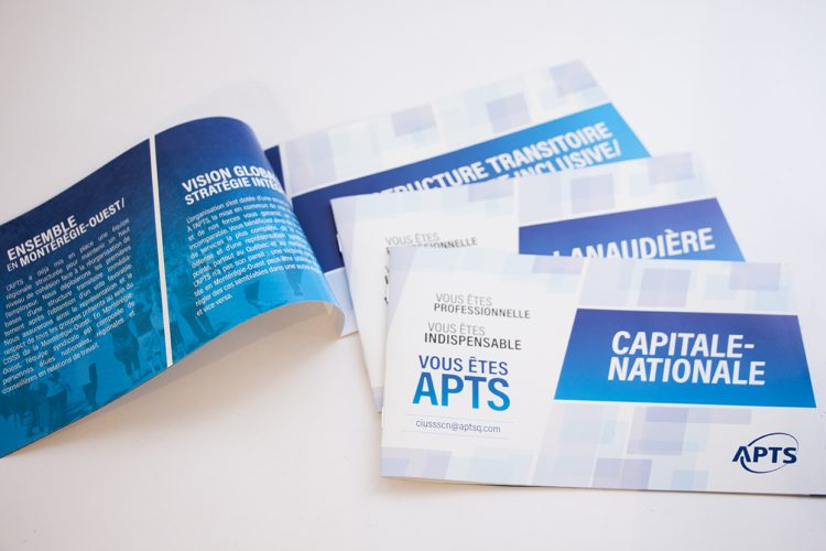 Brochures régionales APTS