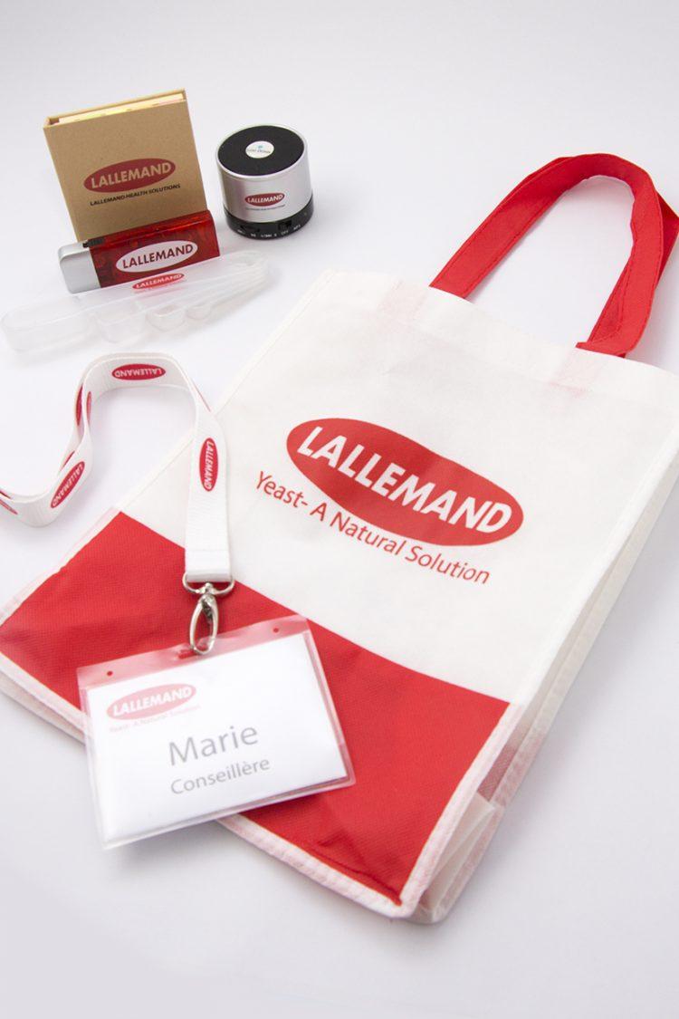 Produits d'exposition Lallemand