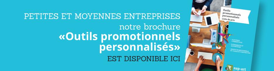 PME brochure outils promotionnels personnalisés disponible ici