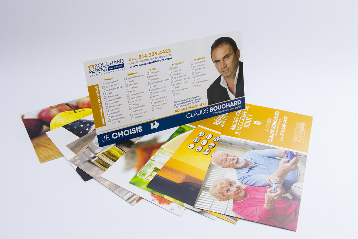 Cartons Publicitaires Claude Bouchard