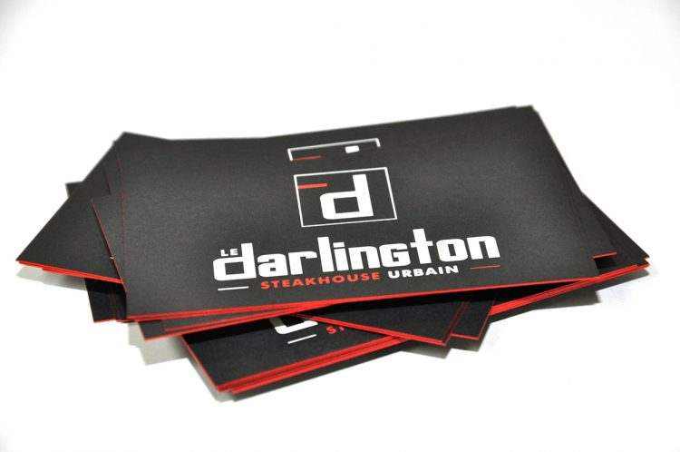 Cartes d'affaires Le Darlignton