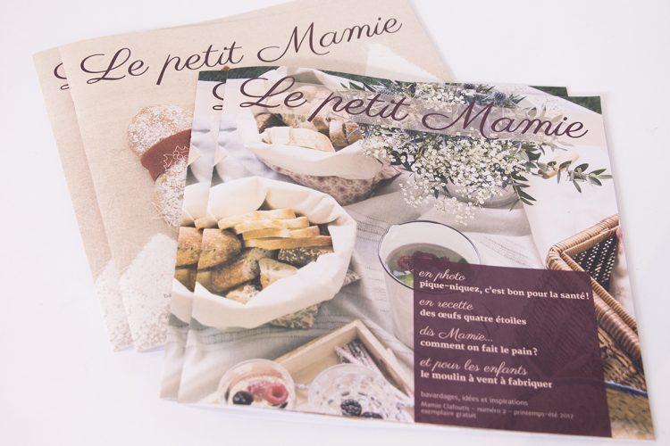 Brochures Le petit Mamie
