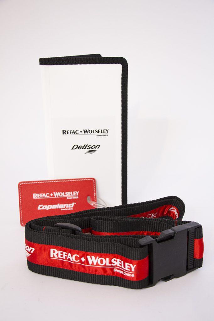 objets promo voyage Refac-Wolseley