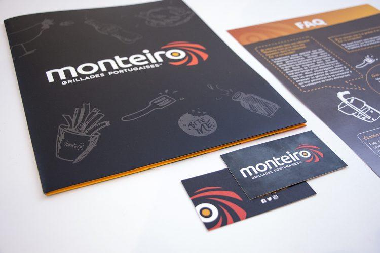 pochette et fiches Monteiro