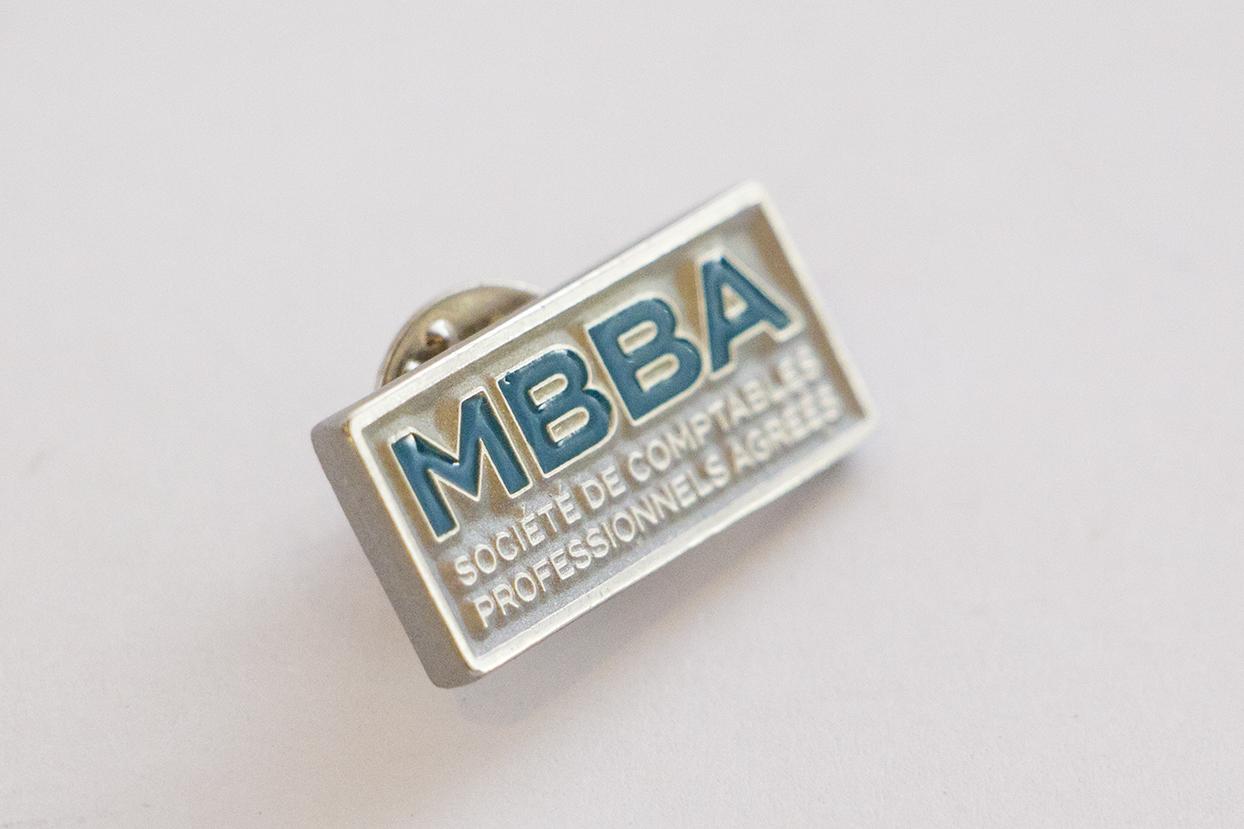 Épinglette MBBA